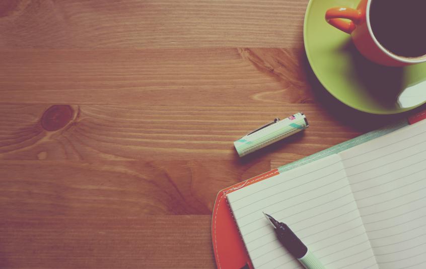 écriture-café