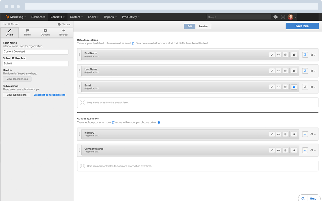 HubSpot Forms - Powerful Lead Intelligence with Smarter Forms
