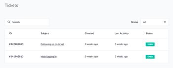 Configurer un portail client