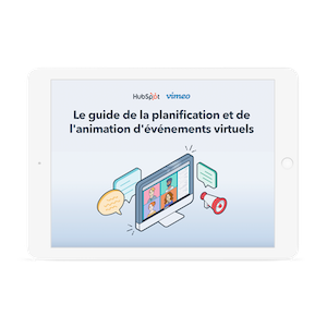 Guide événements virtuels