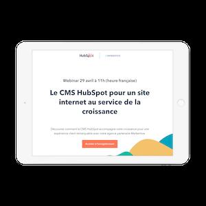 Le CMS HubSpot pour un site internet au service de la croissance
