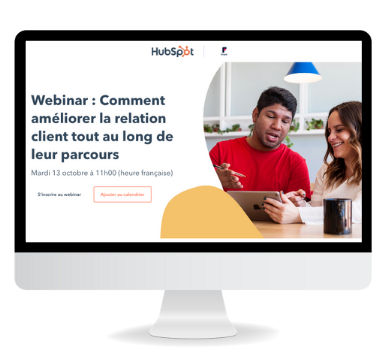 Webinar : Comment améliorer la relation client tout au long du parcours de vente