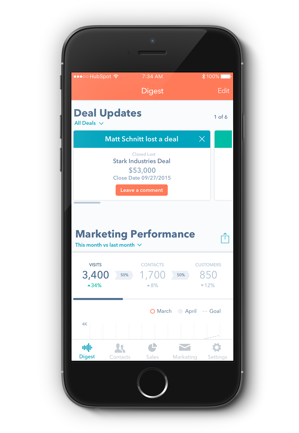 HubSpot Unified Mobile App