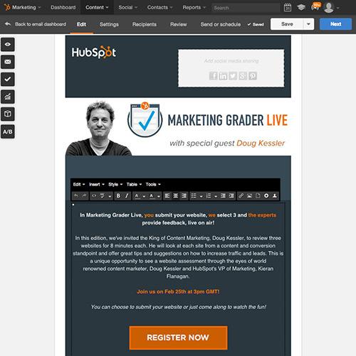 Créez et envoyez des emails en toute simplicité avec HubSpot