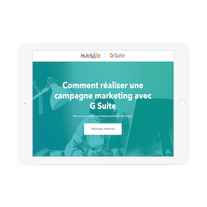 Campagne marketing avec G Suite