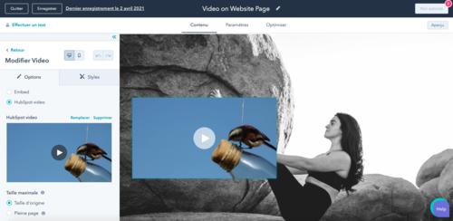 hébergeur vidéo HubSpot