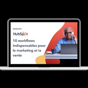 Webinar HubSpot workflows