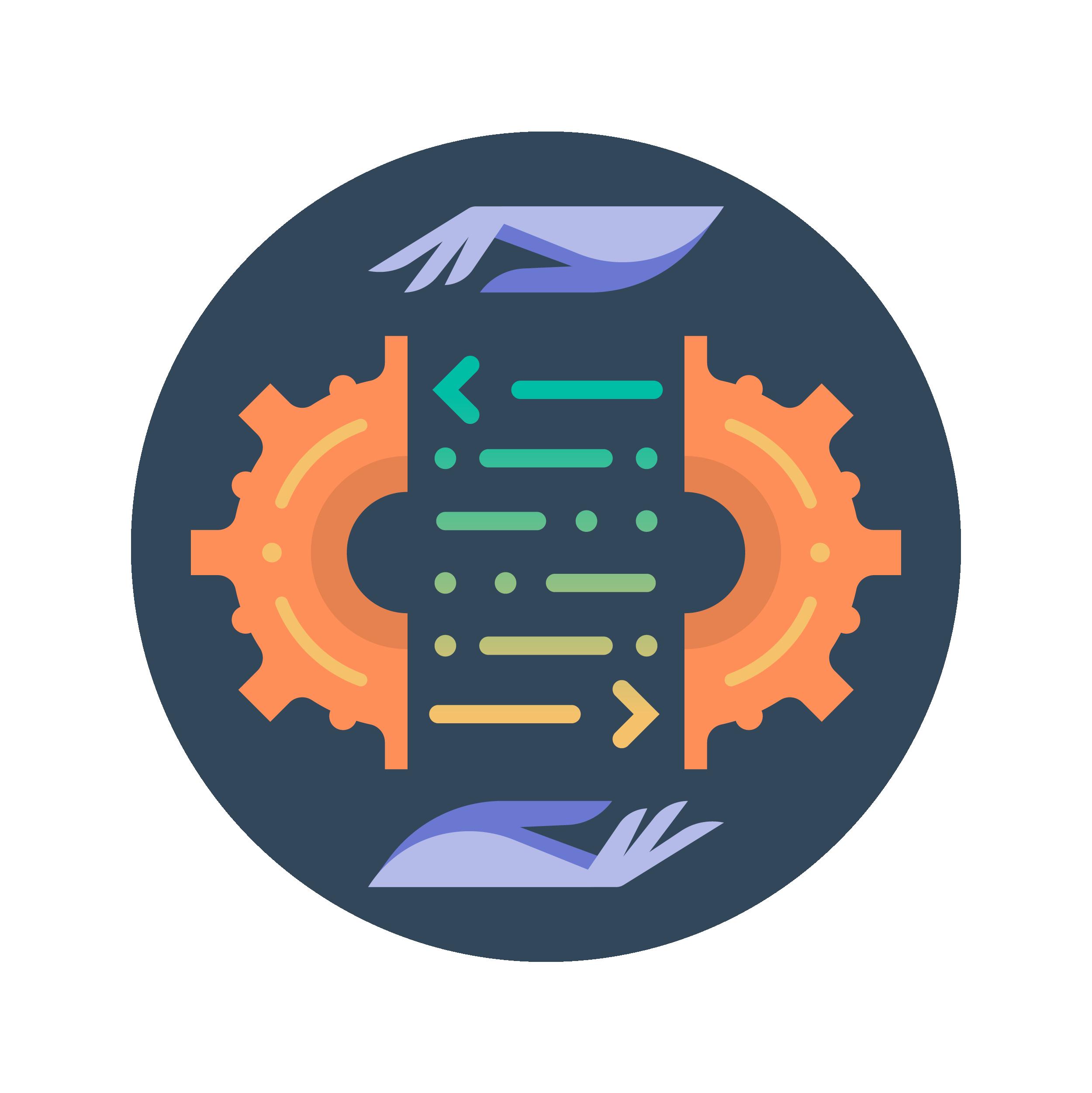 graphique automatisation des processus programmée