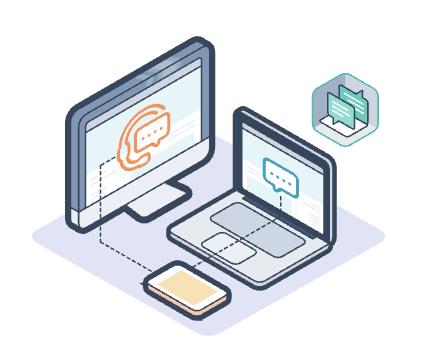 Icône support client