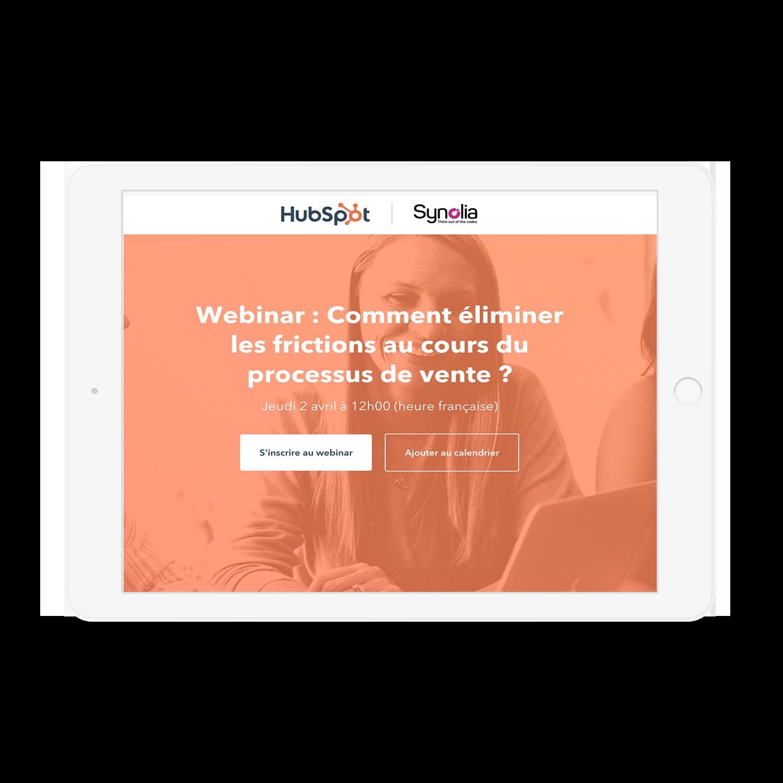Webinar Synolia